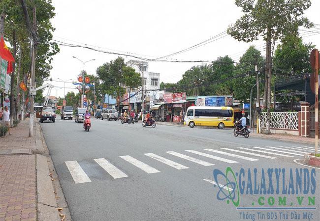 Bán nhà mặt tiền đường Huỳnh Văn Lũy gần UBND phường Phú Lợi