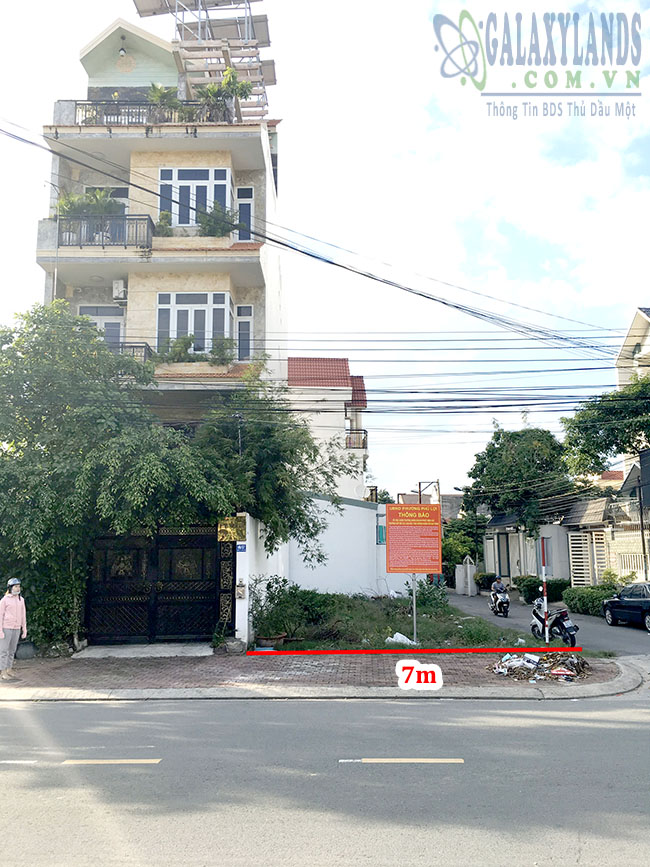 Bán đất đường Phạm Thị Tân, phường Phú Lợi, Thủ Dầu Một