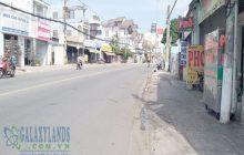 Bán đất mặt tiền đường Cách Mạng Tháng 8 Chánh Mỹ gần chợ Cây Dừa