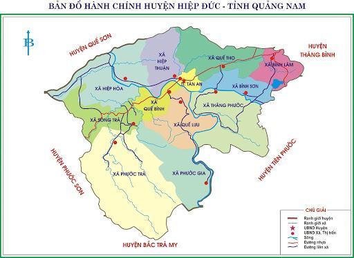 Bản đồ tỉnh Quảng Nam