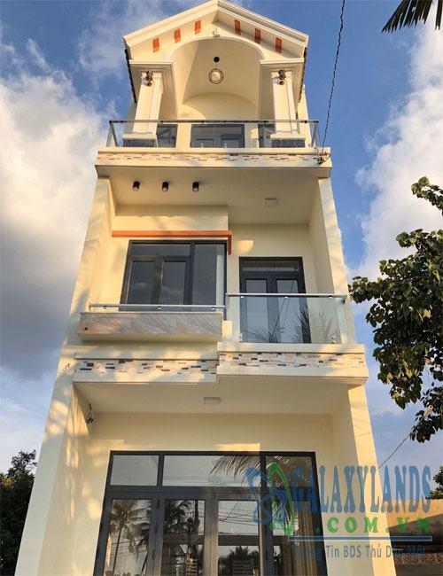 Bán nhà đường DX43 Phú Mỹ