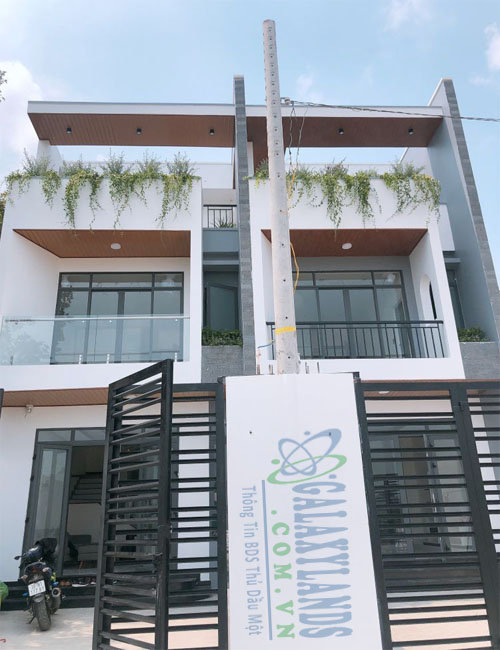 Bán nhà 1 trệt 2 lầu hẻm Nguyễn Đức Thuận, phường Hiệp Thành, Tp. Thủ Dầu Một