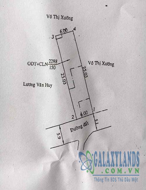 Bán đất đường DX26 Phú Mỹ