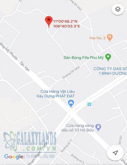 Bán nhà gần sân banh FiFa Phú Mỹ