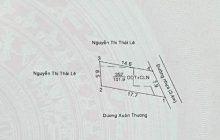 Bán đất gần hầm rượu Trần Long phường Phú Thọ