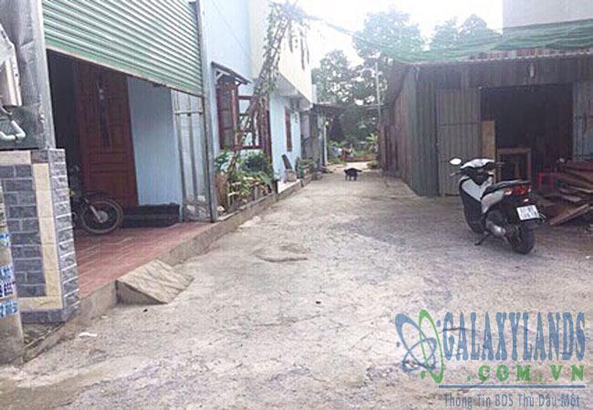 Bán đất hẻm 669 đường Phú Lợi