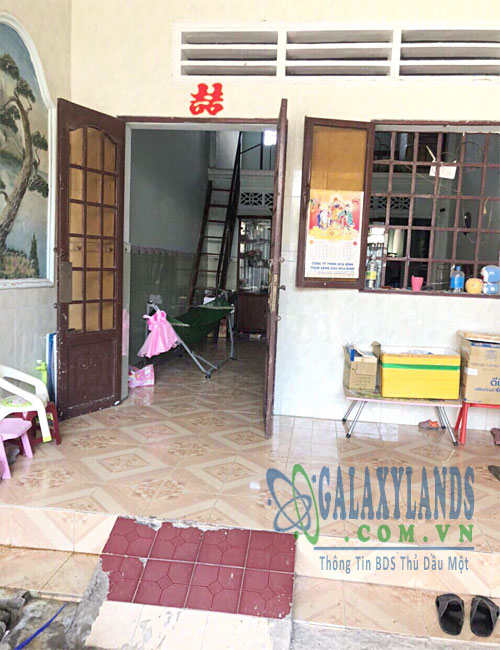 Bán nhà đường xe hơi phường Phú Lợi