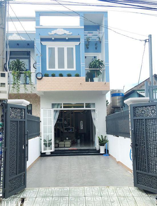 Mặt tiền đường trước căn nhà 1 trệt 1 lầu hẻm 296 Nguyễn Thị Minh Khai, phường Phú Hòa, Thủ Dầu Một