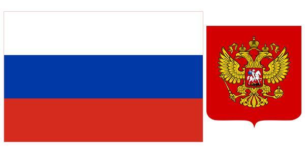Quốc kỳ và quốc huy Liên Bang Nga