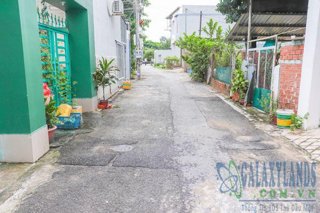 Hẻm nhựa 4m đường Nguyễn Văn Trỗi