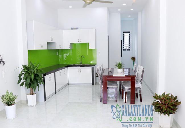 Nhà bếp Phú Hòa bố trí nội thất