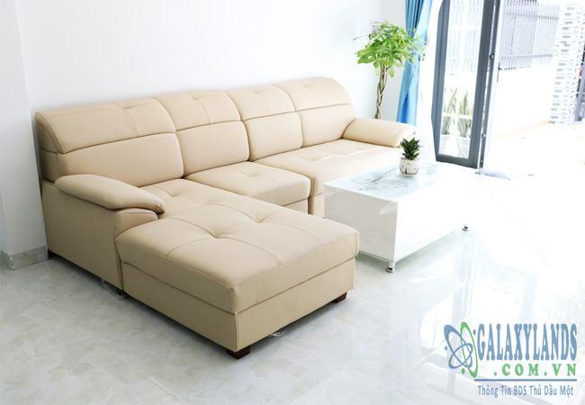 Phòng khách nhà khu phố 3 phường Phú Hòa, Thủ Dầu Một