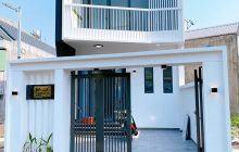 Cần bán nhà mới 5x18m hẻm cây xăng số 6, Phú Hòa