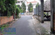 Bán đất phường Tân An đối diện trường THCS Trần Bình Trọng.