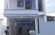 Bán nhà 1 trệt 1 lầu mặt tiền đường nhựa phường Phú Lợi.