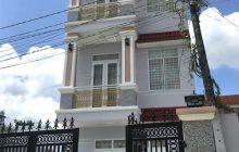 Bán nhà  1 trệt 2 lầu đường số 7 khu dân cư Hiệp Thành 1.