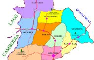 Bản đồ tỉnh Kon Tum khổ lớn phóng to năm 2020