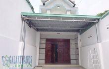 Bán nhà 1 trệt 1 lầu gần đại học Thủ Dầu Một phường Phú Hòa