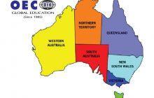 Bản đồ nước Úc khổ lớn phóng to năm 2020