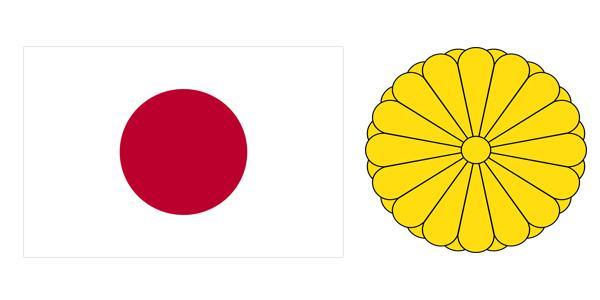 Quốc kỳ và quốc huy đất nước Nhật Bản