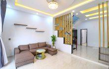 Bán nhà xây 1 trệt 1 lầu hẻm 288 Huỳnh Văn Lũy, sân xe hơi 7 chỗ
